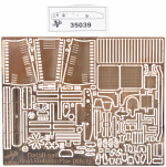 Photoetched detail set le,gl.Einheits-Pkw (Kfz,1)