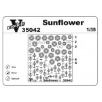 Photoetched set of details Sunflower