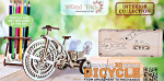 "Mechanical 3D-puzzle ""Bicycle"""