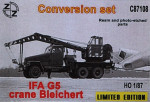 Conversion set. IFA G5 Crane Bleichert
