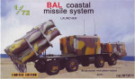 «Ball« coastal missile system launcher