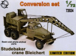 Conversion set. Studebaker crane Bleichert